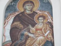 Надвратная икона Божией Матери