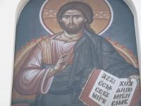 Надвратная икона Спасителя