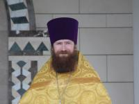 Настоятель храма иерей Даниил Горячев